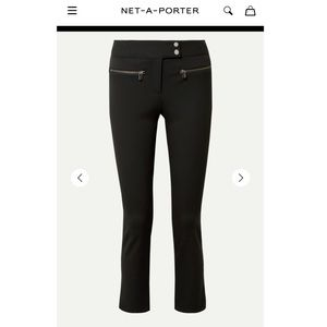 VERONICA BEARD Metro cropped stretch-twill Pants
